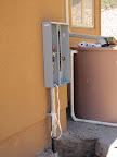Meter box installed 5/13