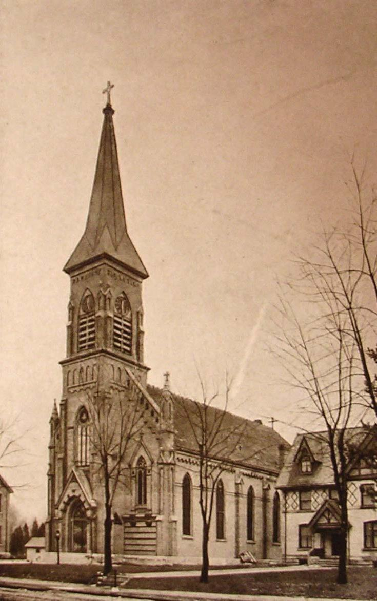 The second Sacred Heart church