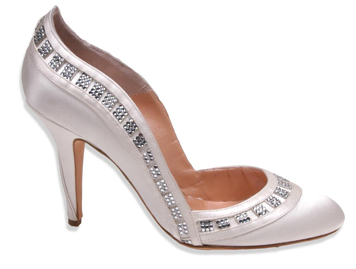 Ivory Bridal Shoes-Bryony