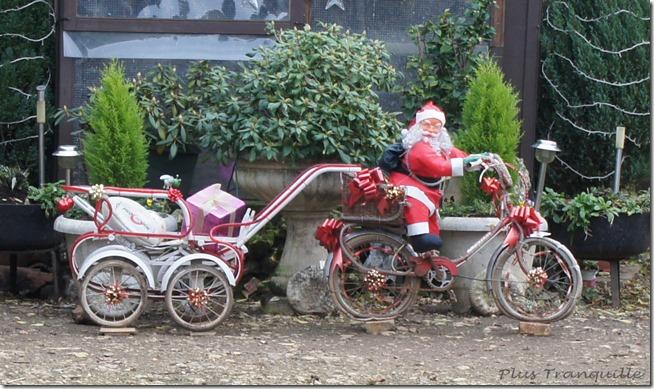 Santa and Bike