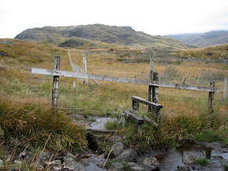 Stile on way to Hard Knott Pass