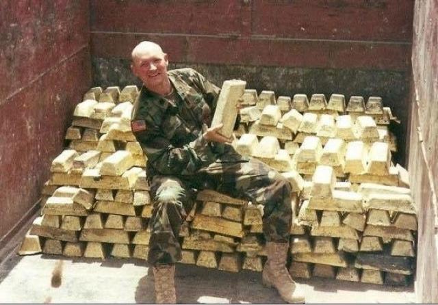 Tapi Kenyataannya Kekayaan Negaranya Dijarah Oleh Amerika Kemudian Mereka Pergi Ke Afghanistan Untuk Mengamankan Ladang Opium Dan Tambang Lithium Dengan
