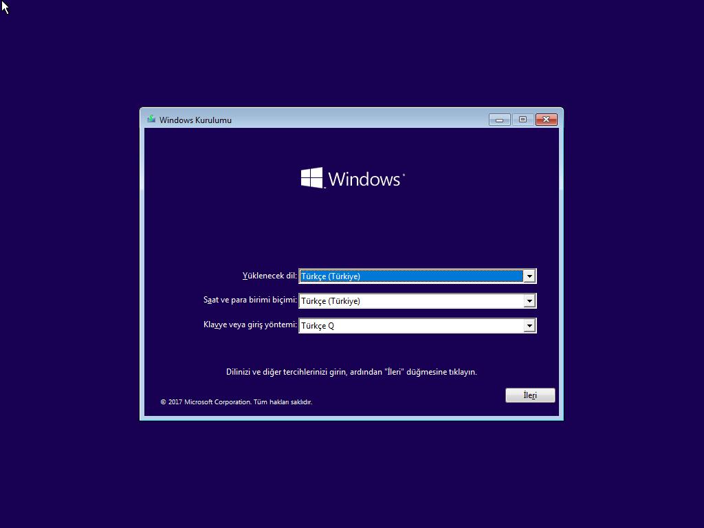 Windows 10 Home Single Language (Redstone 3) - 32 ve 64 Bit Türkçe MSDN - Tek Link indir