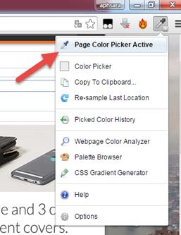 ทราบ code สี html จากหน้าเวบแบบง่ายๆ