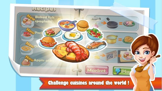 Chef Fever: Crazy Kitchen Restaurant Cooking Games for pc