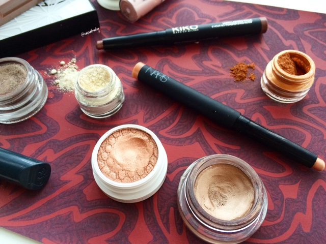 best cream eyeshadows for NC40 skin special occasions christmas