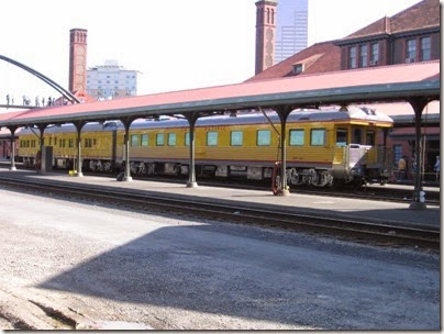 IMG_6104 Union Pacific Business Cars at Union Station in Portland, Oregon on May 9, 2009