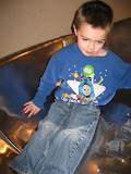 Bryan sliding down a slide at the Magic House in St Louis 03202011b