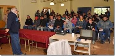 Unos 100 trabajadores del sector pesquero artesanal participaron de las jonadas de capacitación realizadas en Costa del Este