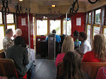 Riding on the trolley in New Orleans 07232012