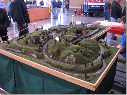 IMG_0781 Joshua Junction & Jenniville N-Scale Layout at the WGH Show in Puyallup, Washington on November 21, 2009