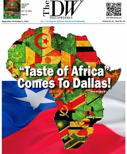 Poorly timed local magazine cover in Dallas...