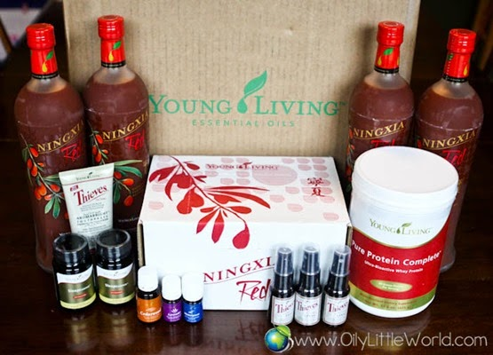 Young Living Essential Rewards order -6765