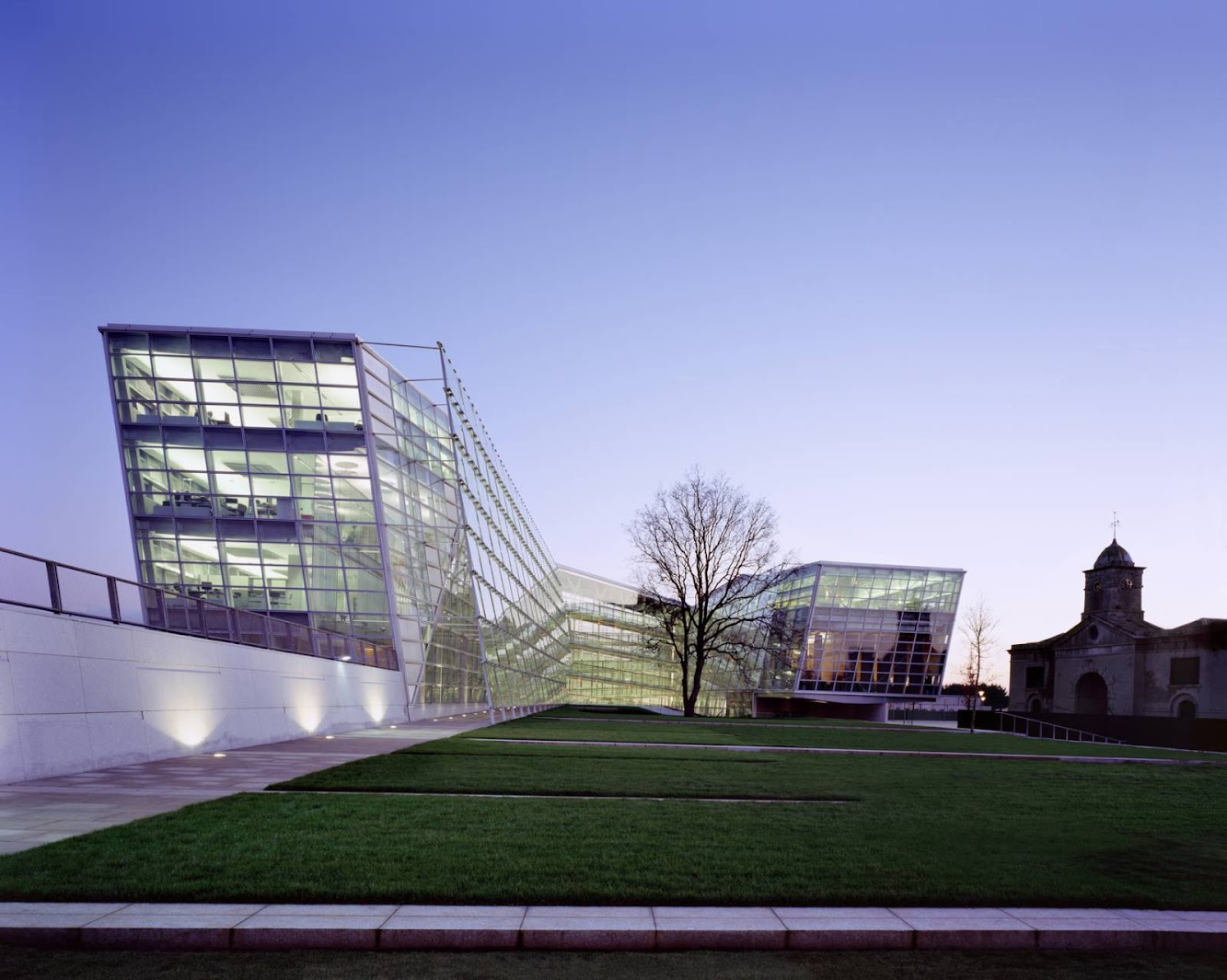 Áras Chill Dara by Heneghan Peng architects