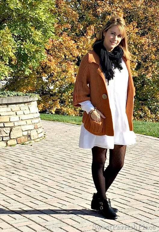 white-dress-orznge-chunky-swezter-black-tights-booties-3