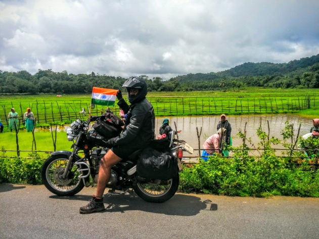 Celebrating Independence day in the rainforests around Agumbe and Sringeri