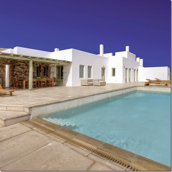 case e interni - casa vacanze grecia - total white