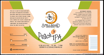 Image result for spellbound peach ipa