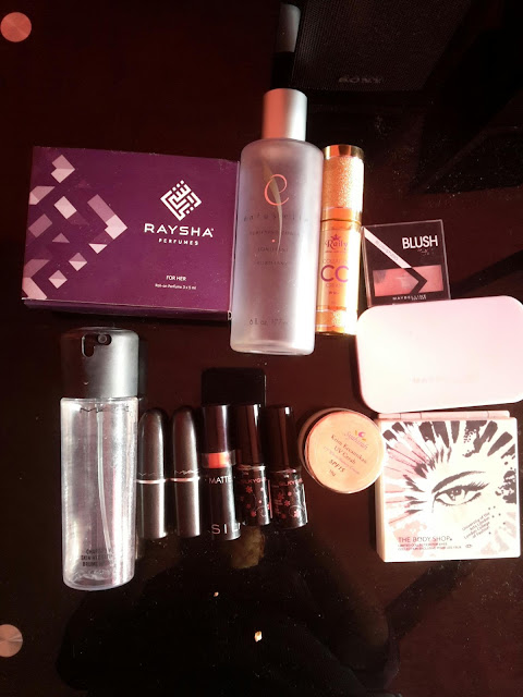 MAKE UP, MAC, BODYSHOP, SHAKLEE, MAYBELLINE