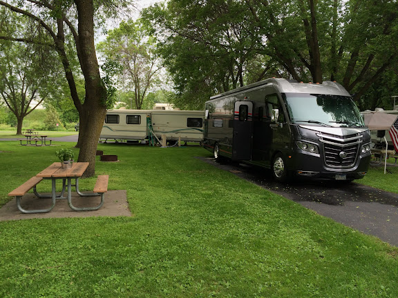 Spot #30 at River Park Campground