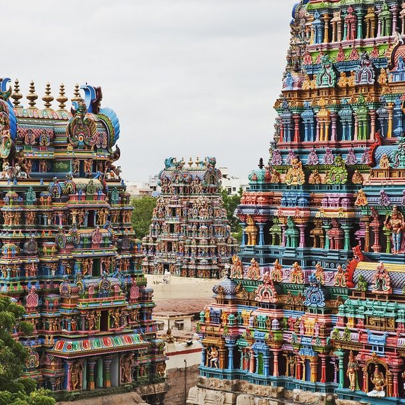 The Meenakshi Temple of Madurai, India