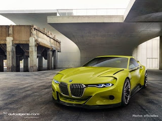 BMW 3.0 CSL Hommage :Un Concept pour la reconnaissance
