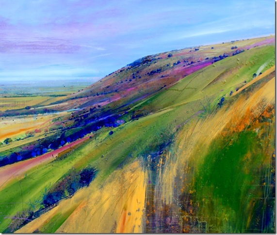 Ditchling Beacon-Lorna-Holdcroft-ENKAUSTIKOS