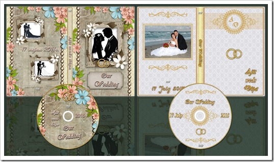 Gorgious DVD Cover Templates