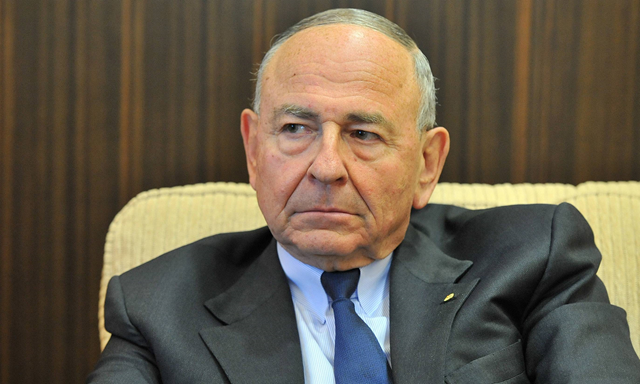 Maurice Newman, the chairman of Australia's business advisory council. On 8 May 2015, he claimed climate change is a ruse encouraged by the United Nations to create a new authoritarian world order under its control. Photo: The Independent
