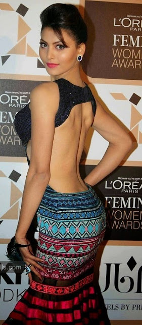 Urvashi Rautela backless