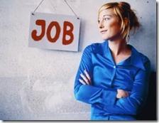 Donna cerca un lavoro