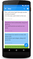 Screenshot of Miary — Private Diary