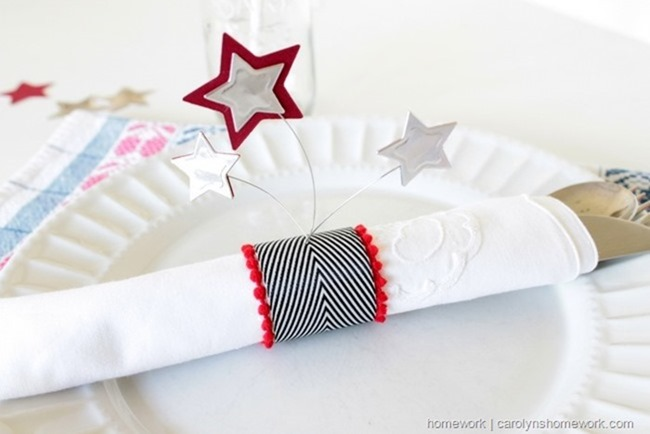 Patriotic Napkin Rings with Stars via homework - carolynshomework (6)[3]