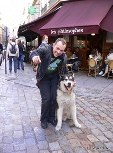Michael & Bondi - Paris 'les philosophes' cafe_thumb