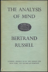 Cover of Bertrand Russell's Book The Analysis Of Mind