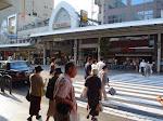 Centrum Kioto - wejście docentrum handlowegoTeramachi.