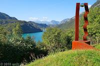 Beim Ort Interneppo am Lago di Cavazzo.