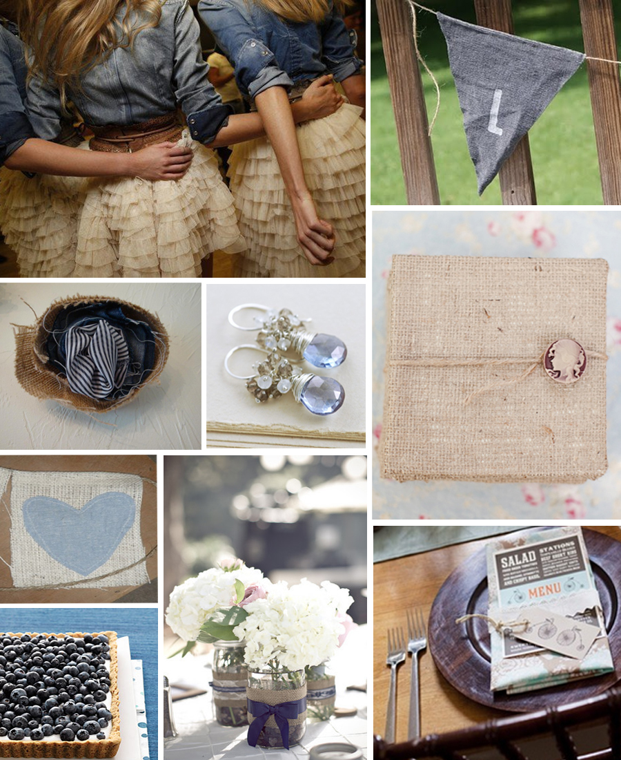 Nerine\'s blog: Burlap & Denim Country Wedding