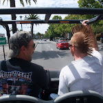 More mid-street golf cart rides...always an adventure