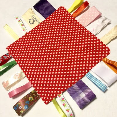 Crinkle Ribbon Baby Toy
