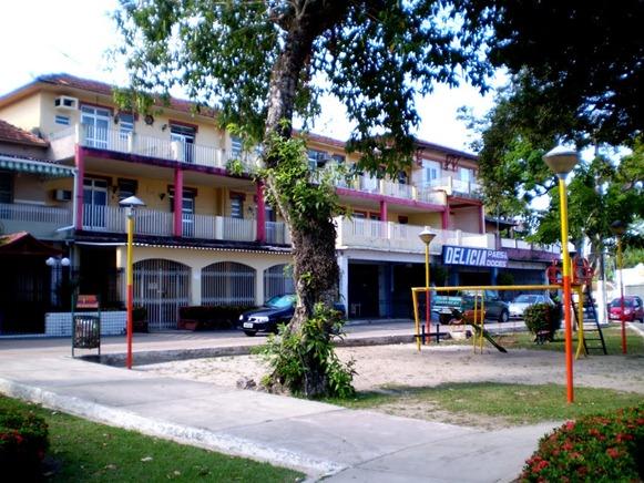 Hotel Chapéu Virado, oggi condominio, foto: Odilson Sà