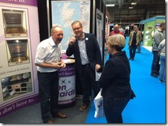 mark at the NEC