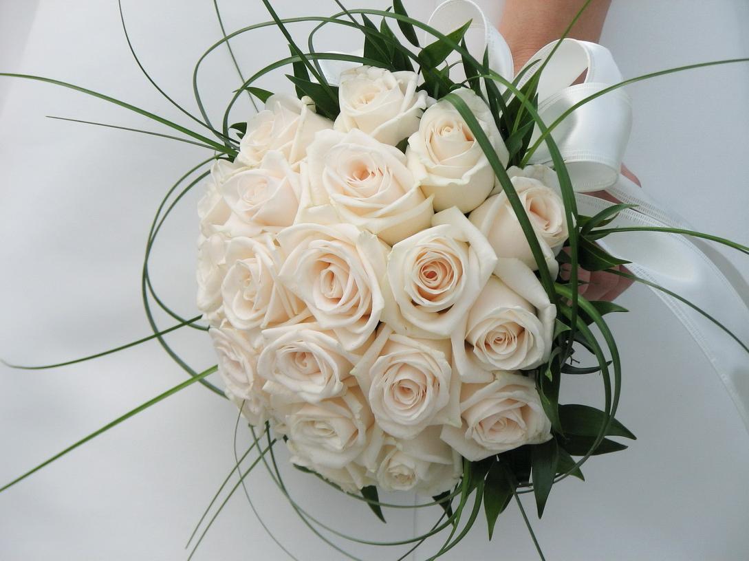 Contemporary satin. in Cart ? Contemporary satin bridesmaid bouquets ideas