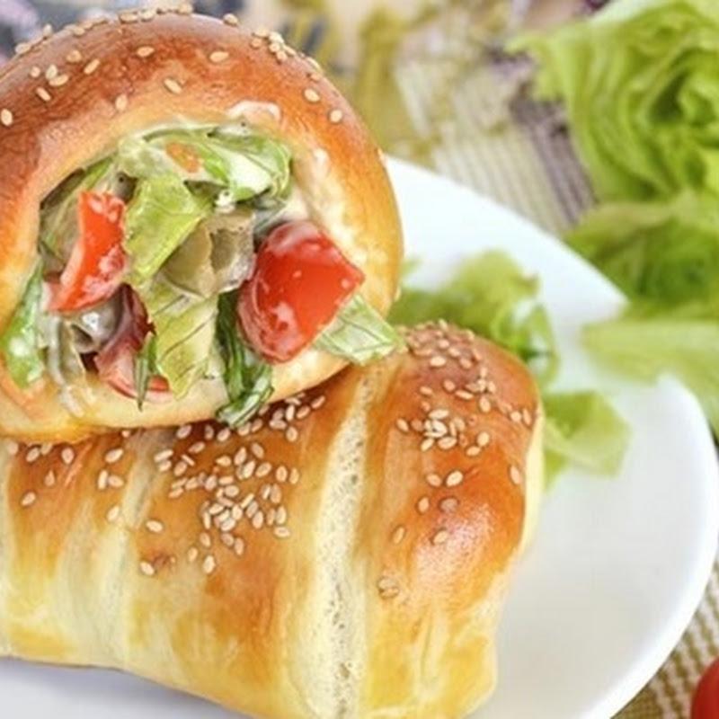 Σάντουιτς σε σχήμα κώνου