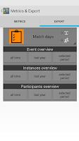 Screenshot of Attendance Tracker