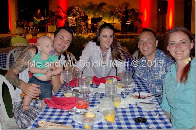 Me and My SoldierMan: Hale Koa Luau and Crabfest
