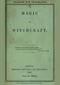 Cover of George Moir's Book Magic and Witchcraft