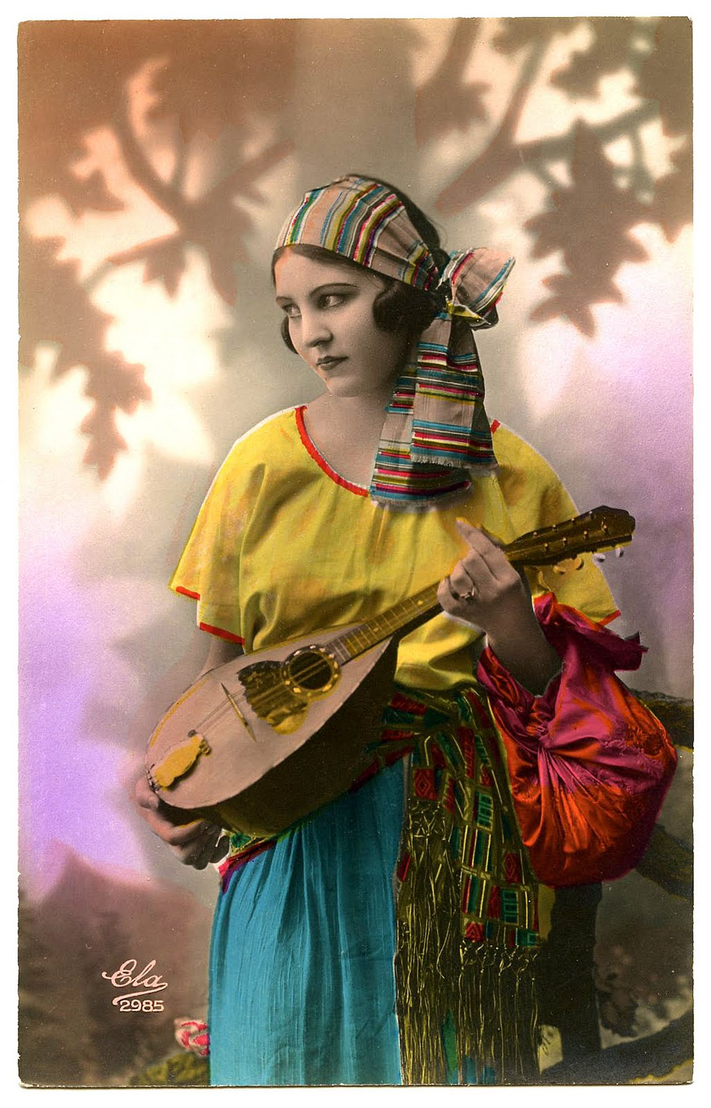 Vintage Image - Fabulous Gypsy