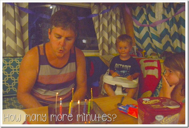 Birthdays in the Caravan | How Many More Minutes?