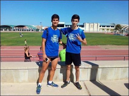 Antonio Rollan y Jorge Varela Cto. Andalucia Juvenil